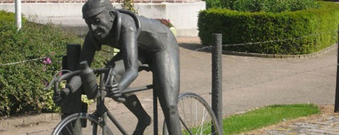 Cycling monument - ©Vlaamse Gemeenschap
