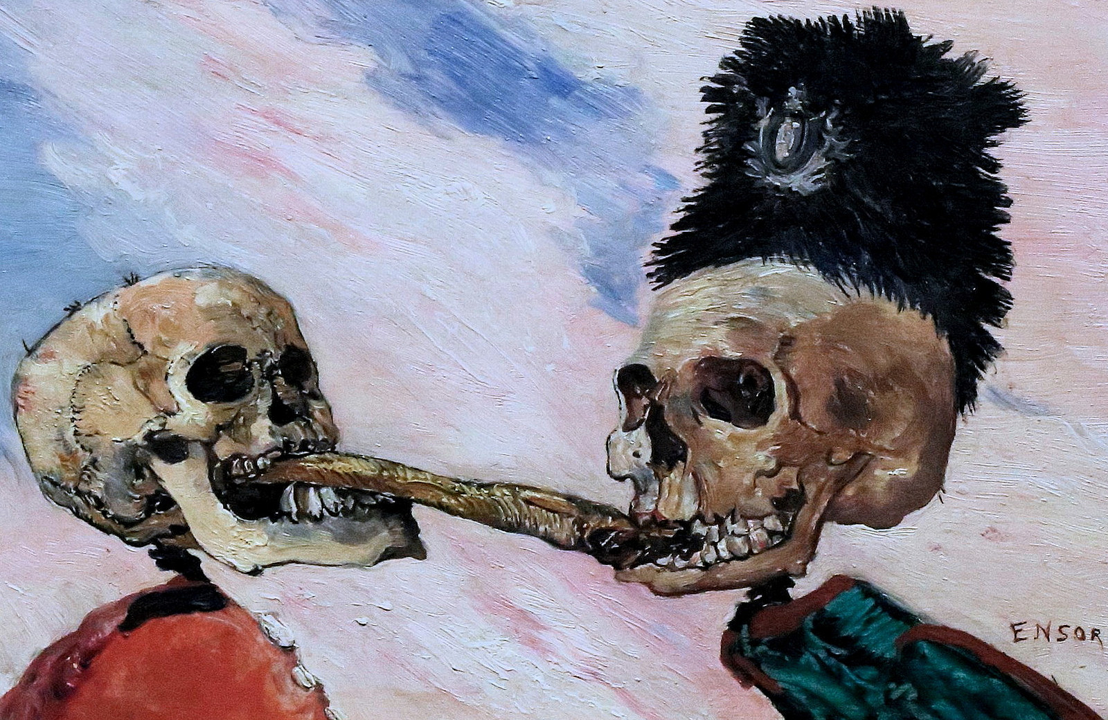 James Ensor pintor, Museo Bellas Artes Bruselas, Arte Flandes Bélgica - © https://creativecommons.org/licenses/by-nc-sa/2.0/