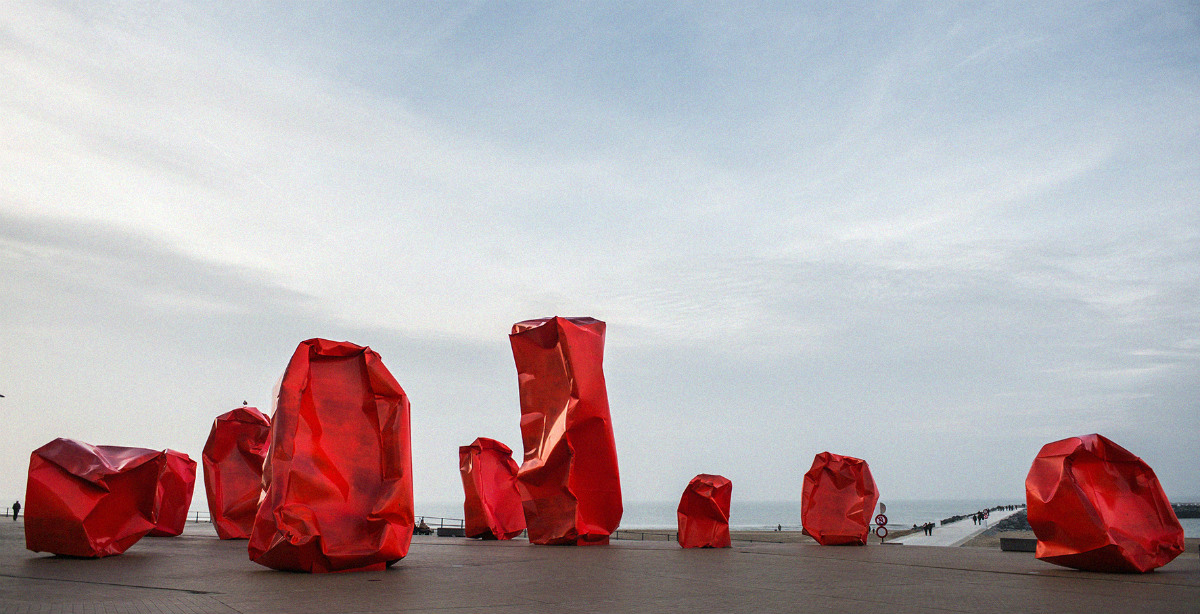 Ostend - Rock Strangers, by artist Arne Quinze