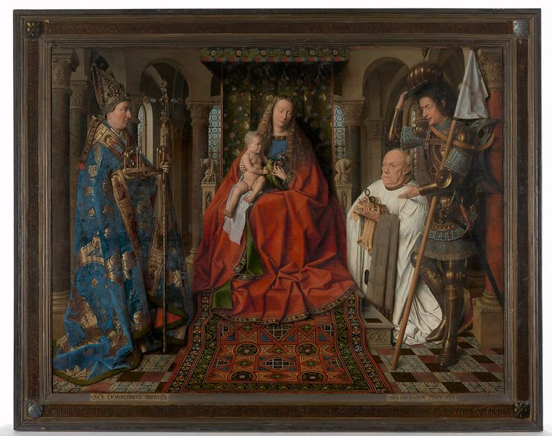 Jan van Eyck in Bruges (c) Image courtesy of LUKAS - ART IN FLANDERS vzw - Photo Dominique Provost