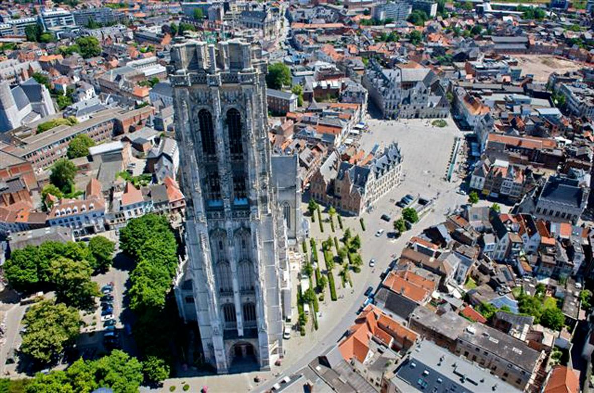 St Rombouts Tour Malines Skywalk © Toerisme Malines