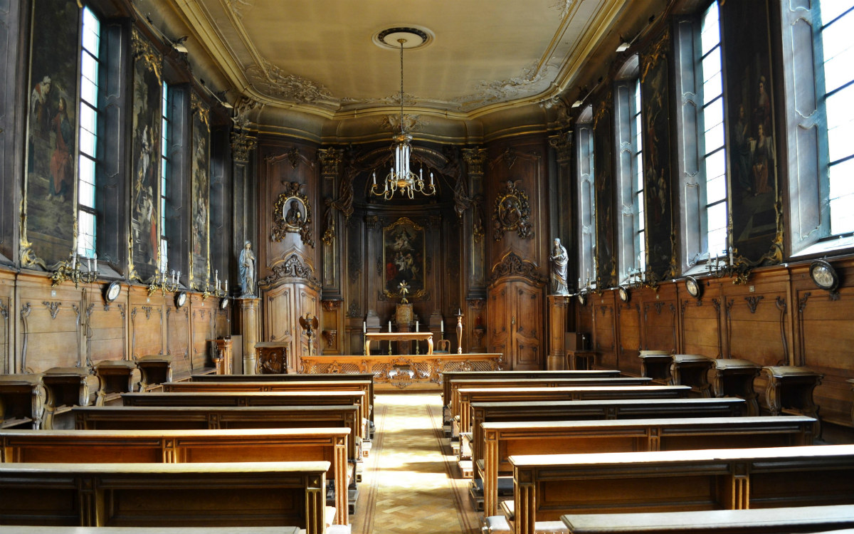Cappella dell'Hollands College a Lovanio - Catholic University Leuven - Photo credits LIV (Source 'Het Nieuwsblad')