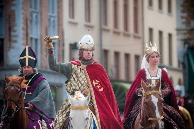 Holy Blood Procession in Bruges - Photo by Jan Darthet (copyright always obligatory)