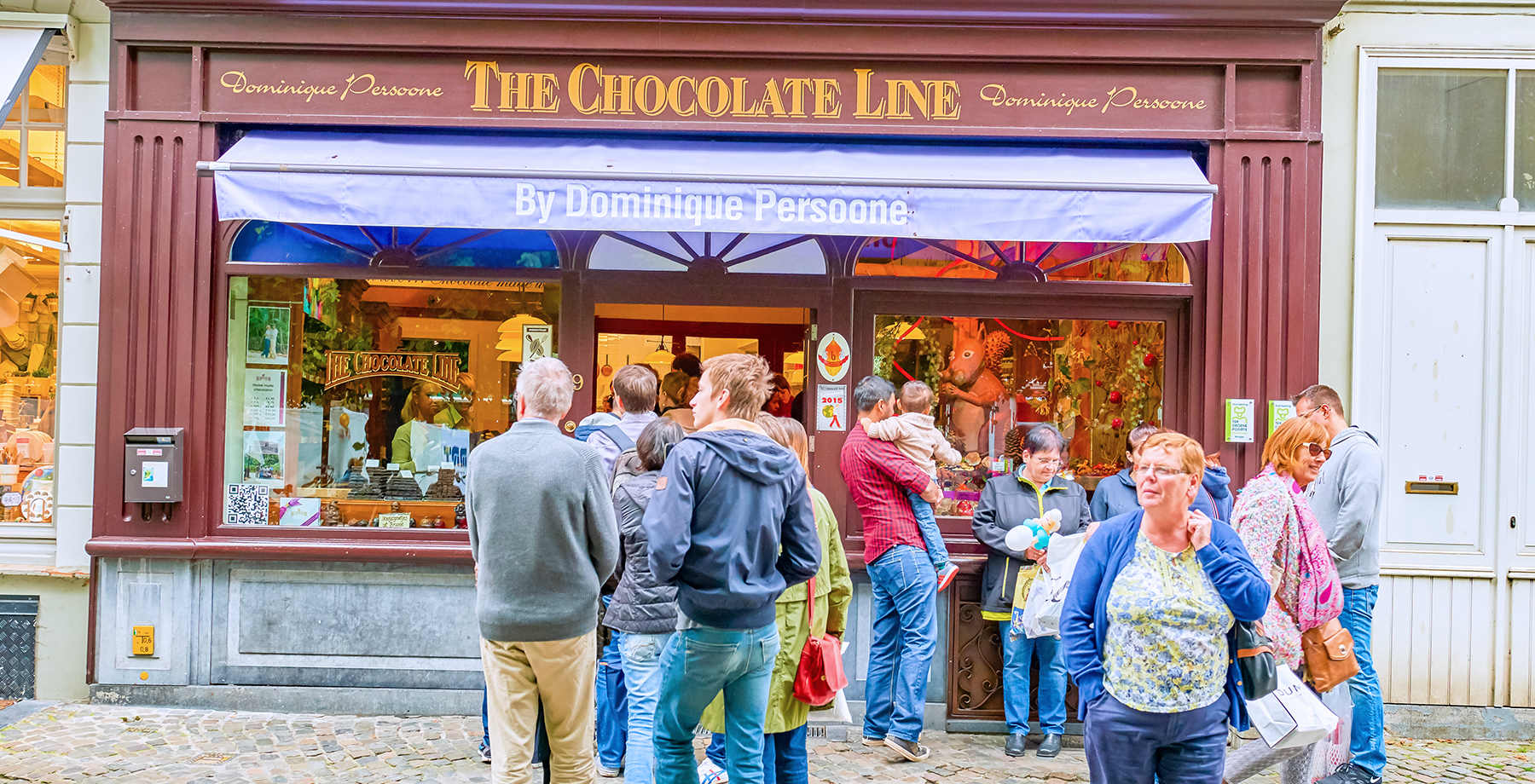 The Chocolate Line Cioccolato a Bruges