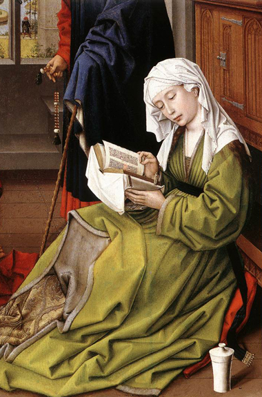 Maddalena che legge - Rogier Van der Weyden © https://creativecommons.org - licenses by 2.0