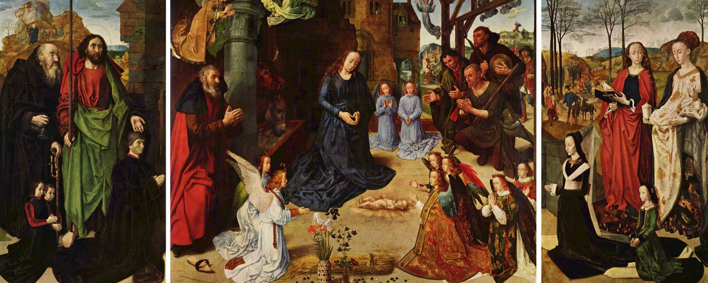 Pala d'altare Portinari - Hugo van der Goes - [Public domain], via Wikimedia Commons