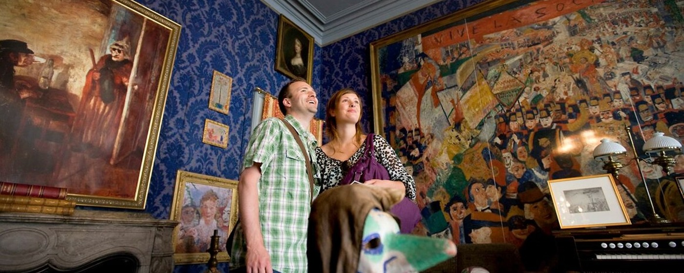 The James Ensor house - Ostend (c) Westtoer