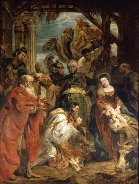 Peter Paul Rubens - Adoration of the Magi - © Royal Museum of Fine Arts Antwerp