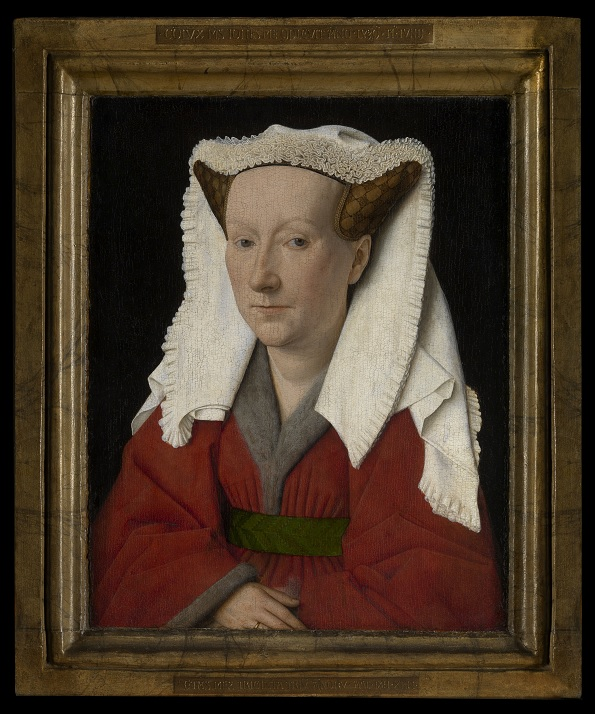 Portrait of Margareta van Eyck, Musea Brugge(c) www.lukasweb.be - Art in Flanders vzw photo Hugo Maertens, http://www.lukasweb.be/en/photo/portrait-of-margareta-van-eyck-2
