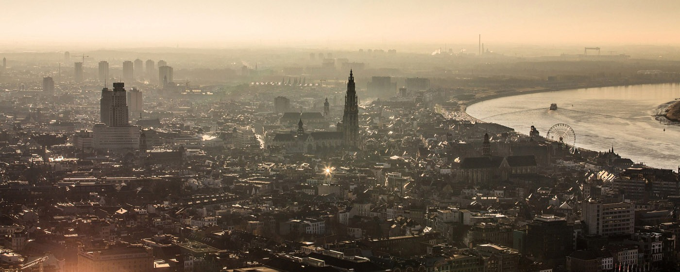 Skyline of Antwerp