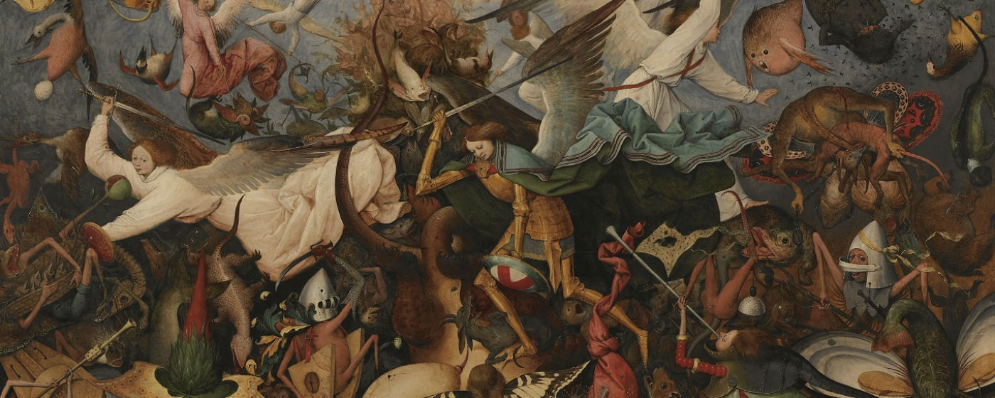 The Fall of the Rebel Angels (c)KMSKB, photo J. Geleyns-Ro