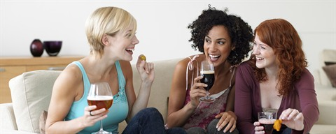 Women and beer ©VLAM vzw