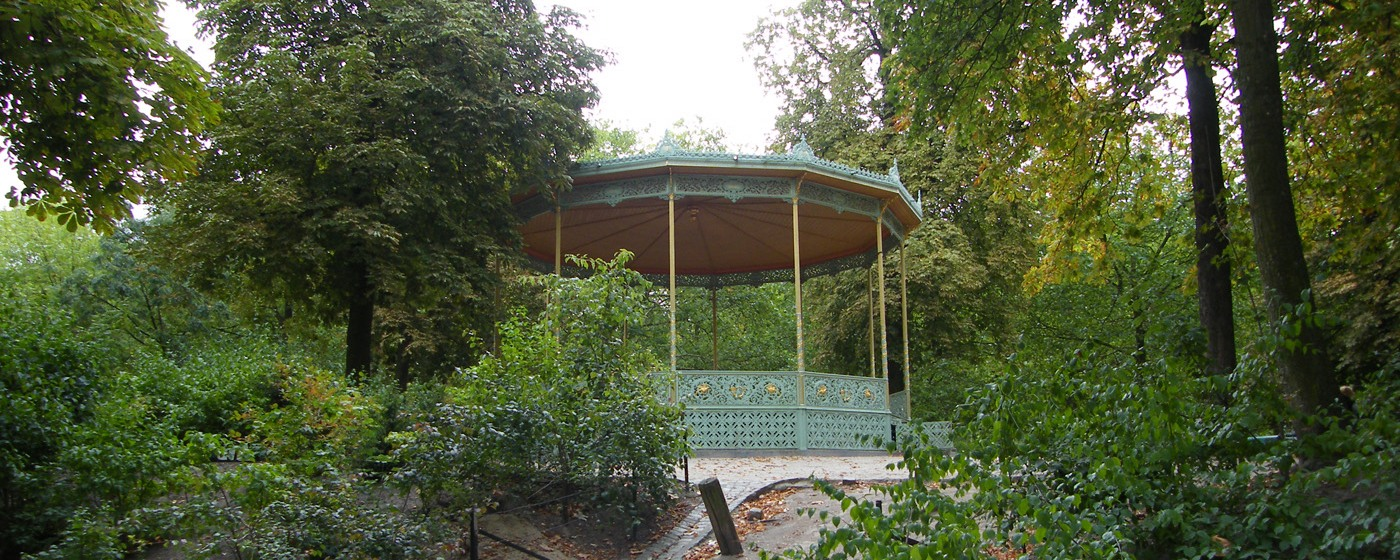 Kiosk at the Royal Park 'De Warande' in Brussels - CC License -Credits Photo: Michael Sauers