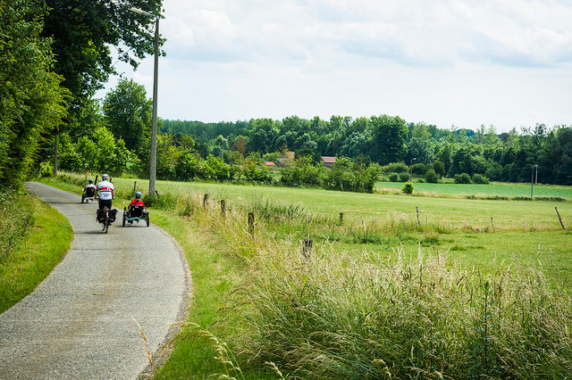 Exploring Hageland by bike