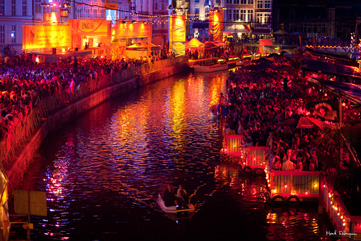 Ghent Festivities by Night - CC License © Mark Florquin