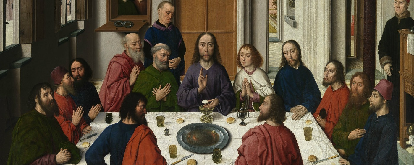 The Last Supper Museum M (c)www.Lukasweb.be-Art in Flanders vzw photo Hugo Maertens, http://www.lukasweb.be/nl/foto/altaarstuk-van-het-heilig-sacrament-0