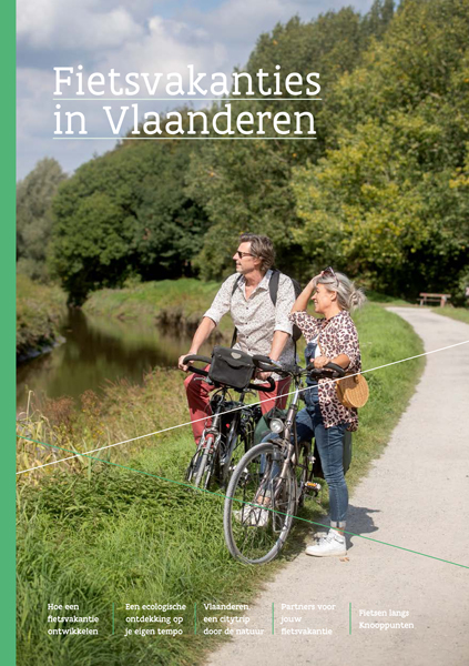 Cover: Fietsvakanties in Vlaanderen
