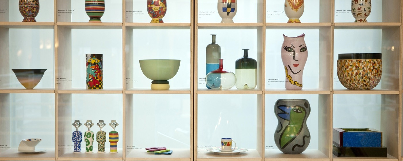 Design Museum, Closet with objects, Ghent (c)Joost Joossen