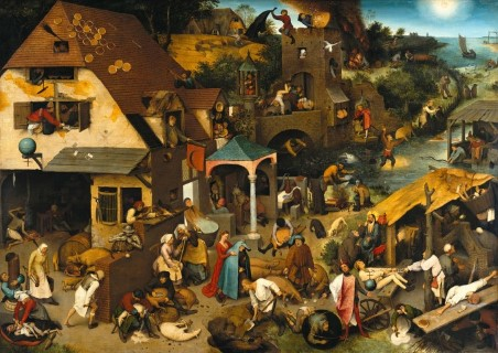 Dutch Proverbs - Pieter Bruegel the Elder - © Public Domain