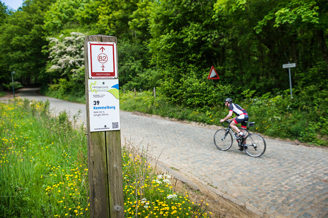 Cycling in Heuvelland - Kemmelberg